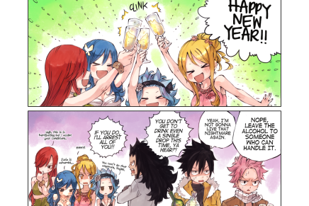 Happy New Year from Fairy Tail