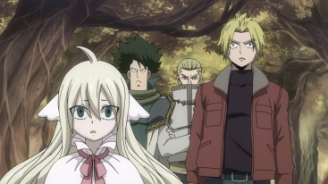 Founding members of Fairy Tail