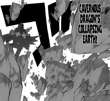 God Serena's Cavernous Dragon's Collapsing Earth