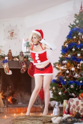 Ino Yamanaka Christmas Cosplay by Rael-chan89