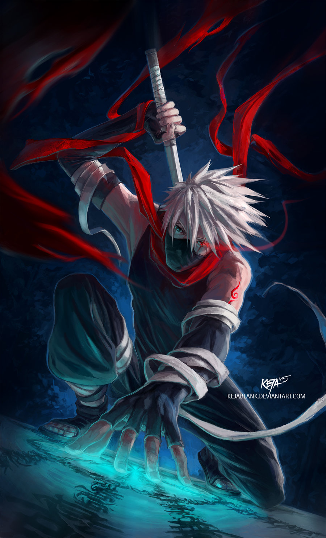 The ultimate ninja kakashi hatake daily anime art - Manga kakashi ...