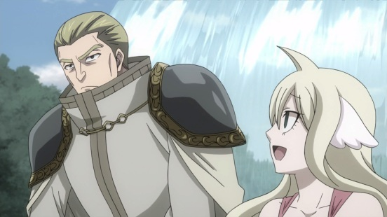 Mavis talks to Precht