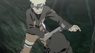 Naruto struggles