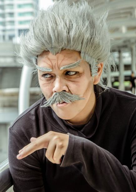 Cosplay: Silver Fang (One-Punch Man)