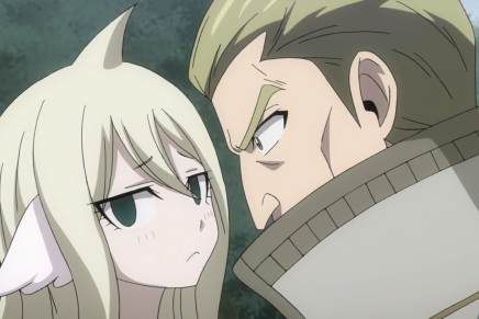 Mavis and Precht! Blue Skull – Fairy Tail 269