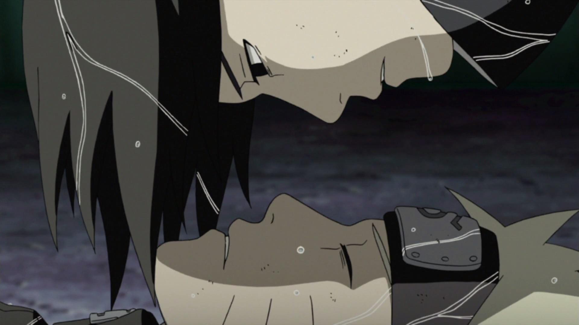 Sasuke vs naruto orochimaru s curse naruto shippuden 446 daily anime art - Naruto and sasuki ...