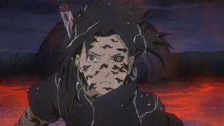 Sasuke notices Naruto's power