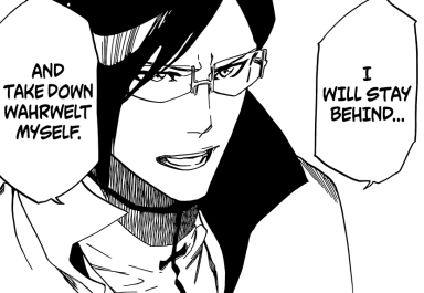 Uryu wants to destroy Wahrwelt