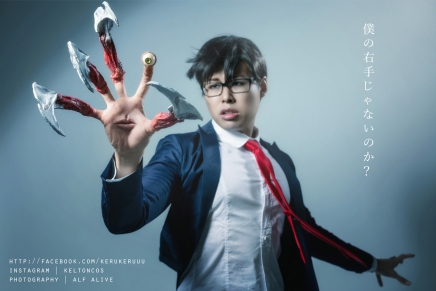 Cosplay: Shinichi and Migi