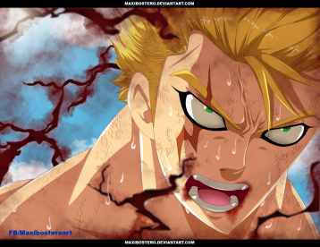 Fairy Tail 473 Laxus by maxibostero