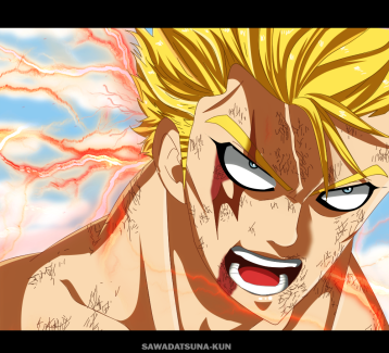 Fairy Tail 473 Laxus Dreyar by sawadatsuna