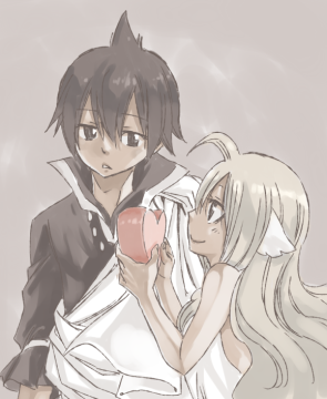 Mavis' gift to Zeref