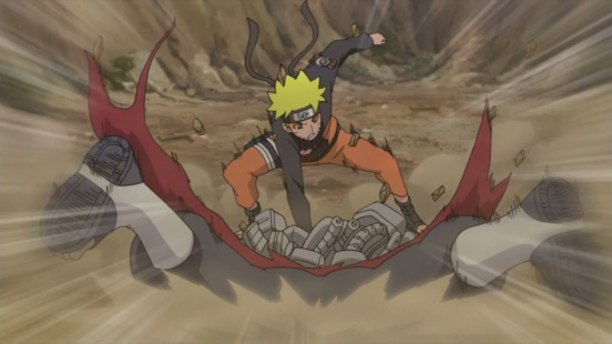 Naruto attacks back