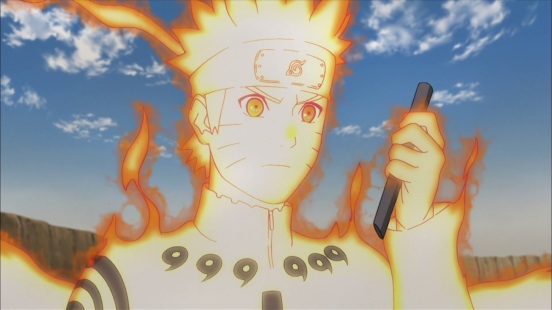Naruto detects Nagato