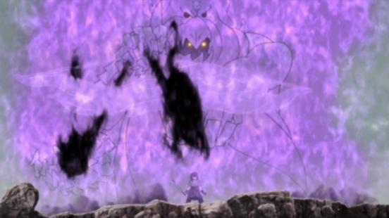 Sasuke's Amaterasu Bow