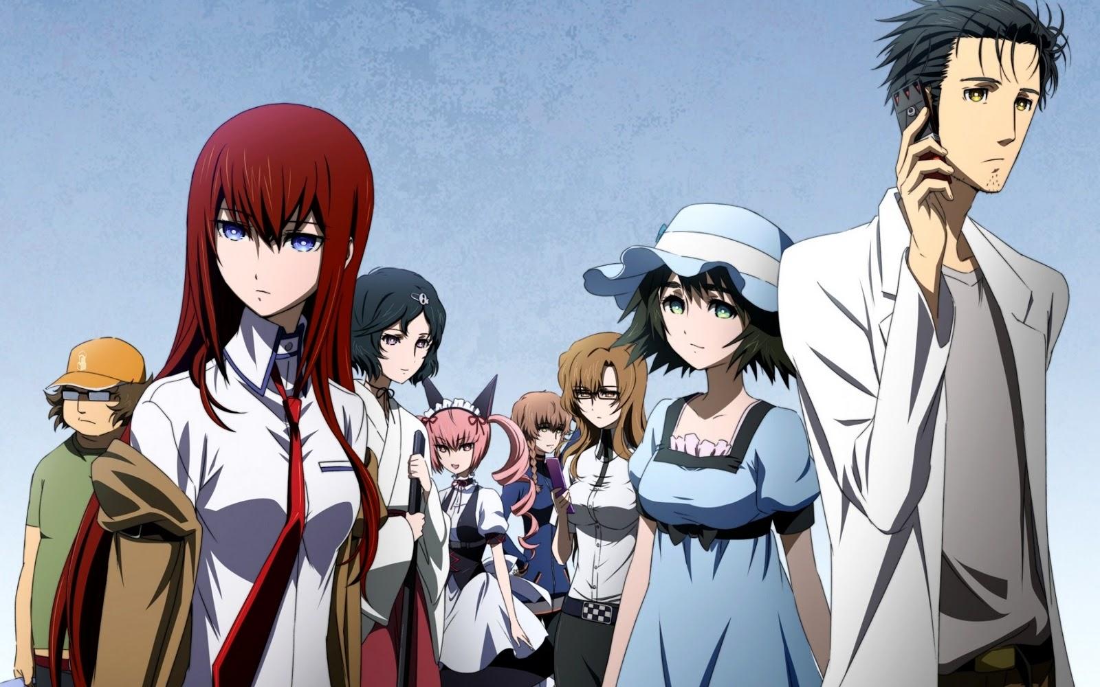 Watch Steins Gate Anime Daily Anime Art