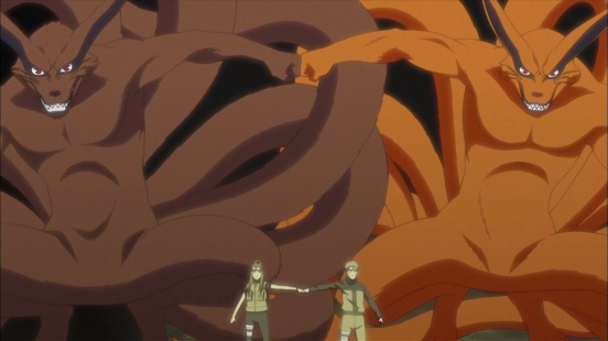 Two Kurama's Naruto and Kushina