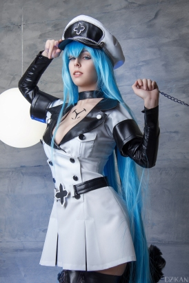 Akame Ga Kill Esdeath Cosplay by Disharmonica