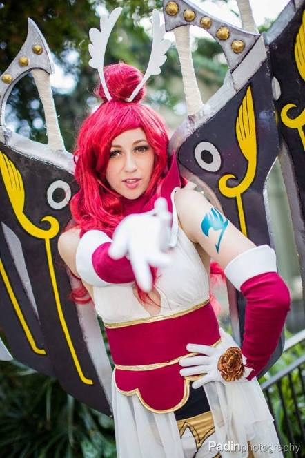 Erza Scarlet Cosplay by Crystal Fantasy Cosplay