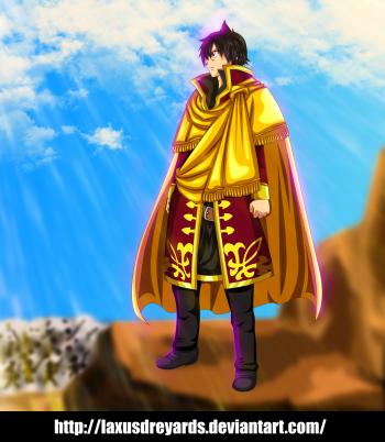 Fairy Tail 479 Zeref by laxusdreyards