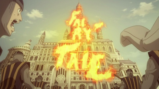Fairy Tail flames