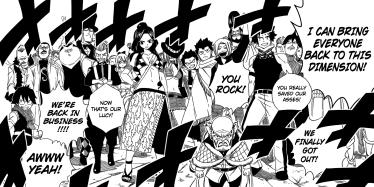Fairy Tail members return