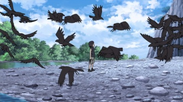 Itachi and crows