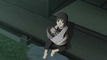Itachi takes care of Sasuke