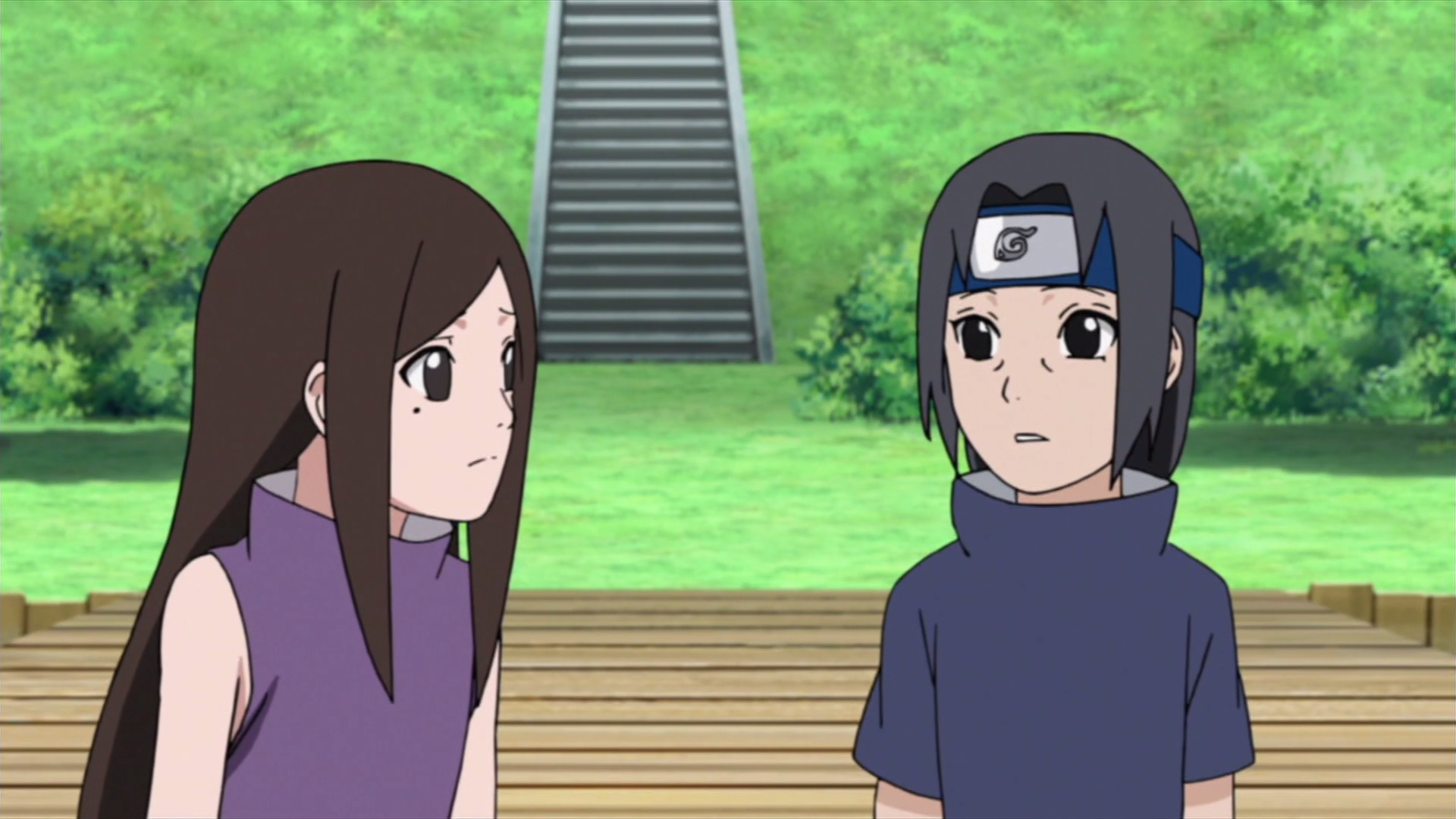 Izumi and Itachi | Daily Anime Art