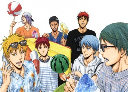 Kuroko's Basketball - Extra Game team