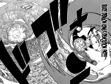 Natsu's Blaze Dragon King's Demolition Fist
