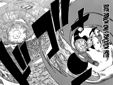 Natsu's Blaze Dragon King's Demolition Fist