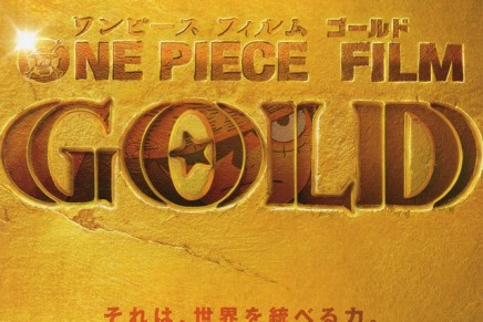 Eiichiro Oda Draws Main Visual for One Piece Film Gold