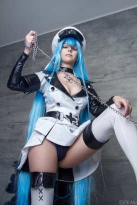 Sexy Esdeath Cosplay by Disharmonica