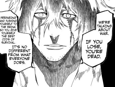 Urahara talks about War