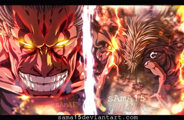 Bleach 669 Zaraki's Bankai by sama15