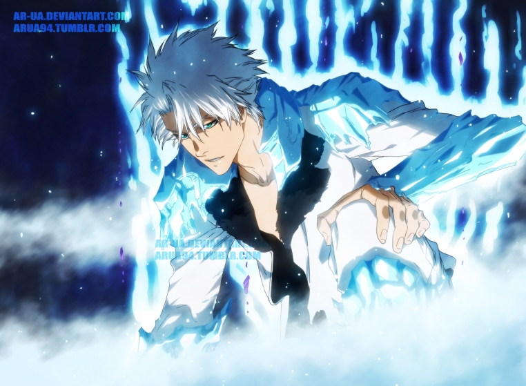 Bleach Toshiro New Look Bankai