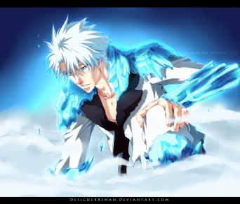 Bleach 670 Toshiro Bankai by Designerrenan