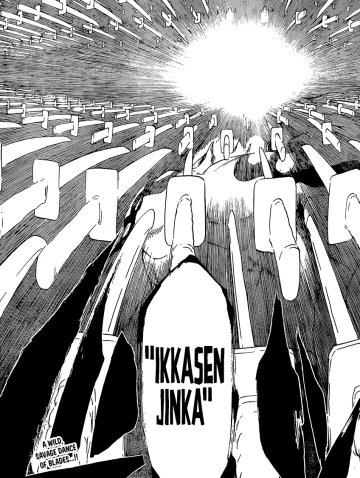Byakuya's Senbonzakura Kageyoshi Ikkasen Jinka