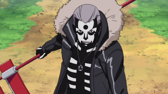 Hidan activates powers