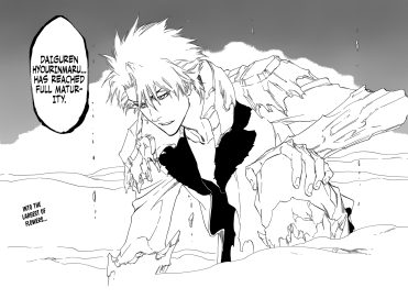 Hitsugaya's Bankai Transformation