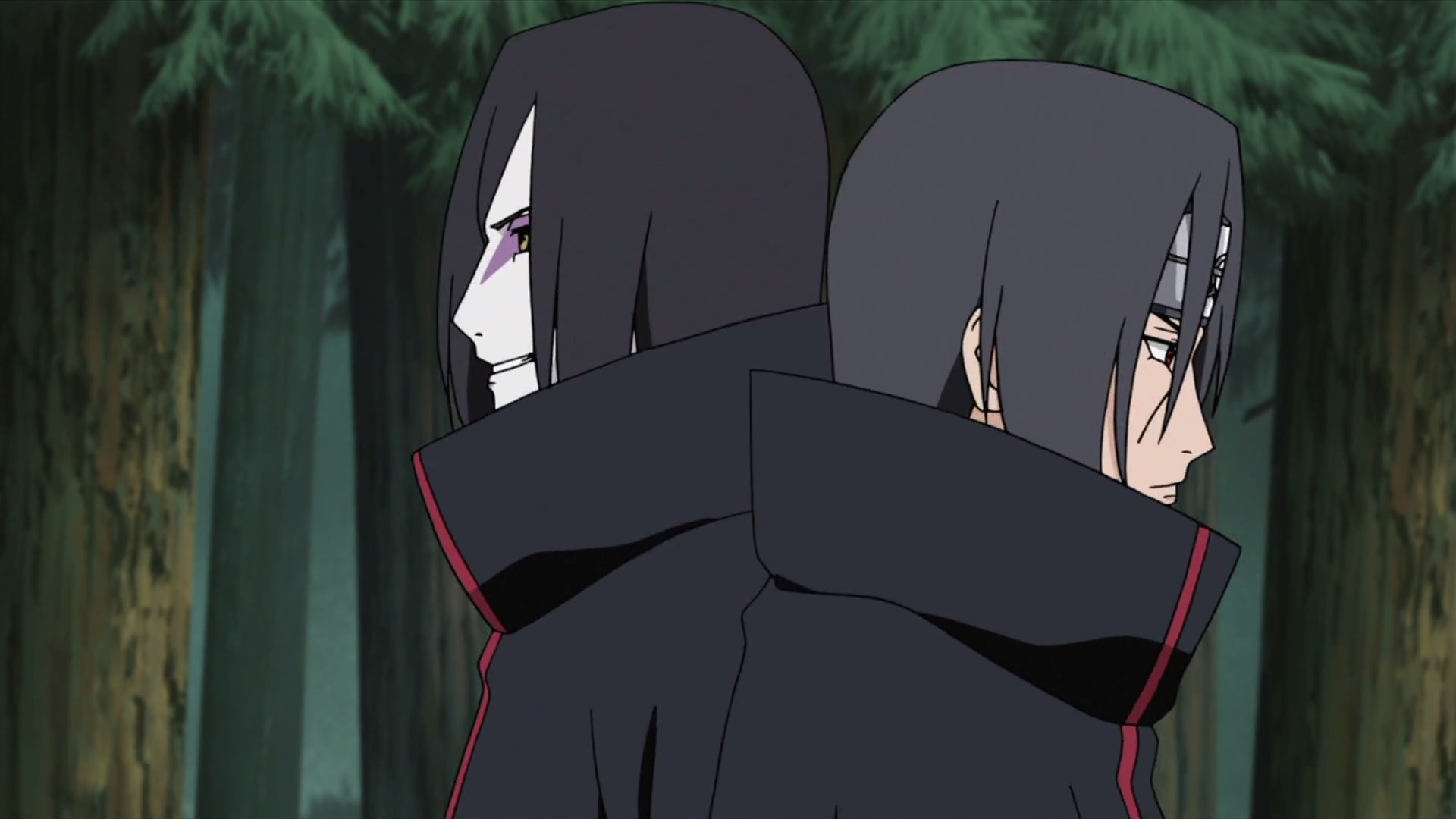 O pertubador clipe que o Cartoon network passou no adult swin. Itachi-and-orochimaru