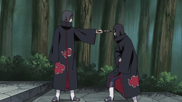 Itachi warns Orochimaru