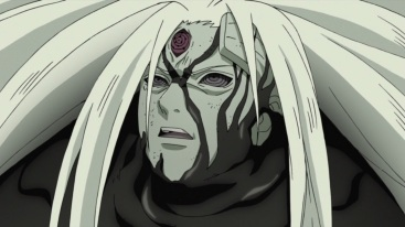 Madara engulfed by Zetsu