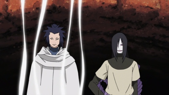 Orochimaru and Third Kazekage