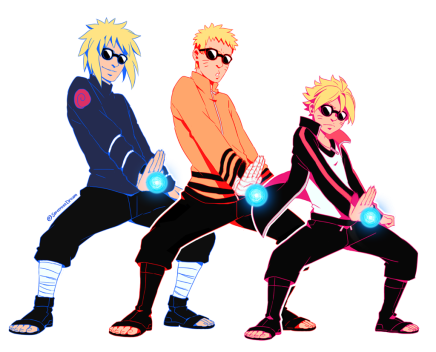 Where Did You Get That Jutsu From – Minato, Naruto and Boruto