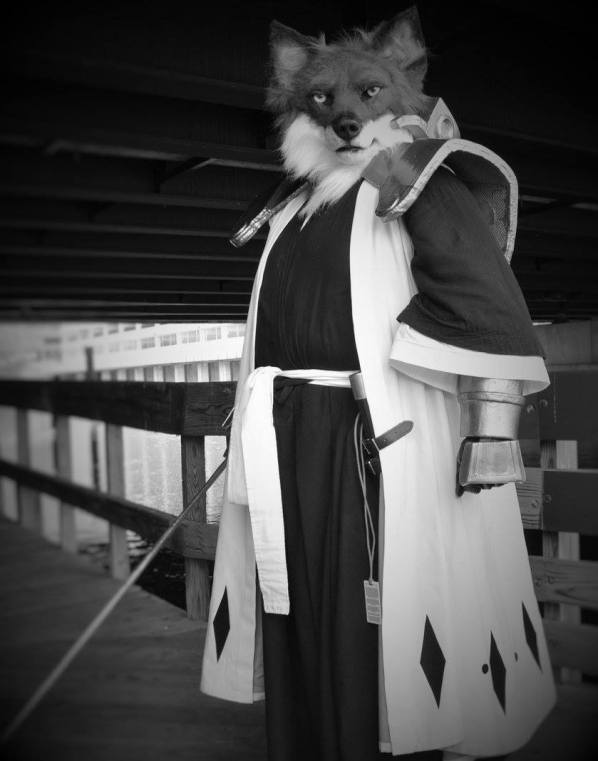 Sajin Komamura Cosplay Bleach by Sharpe19 and KCKitty Photgraphy
