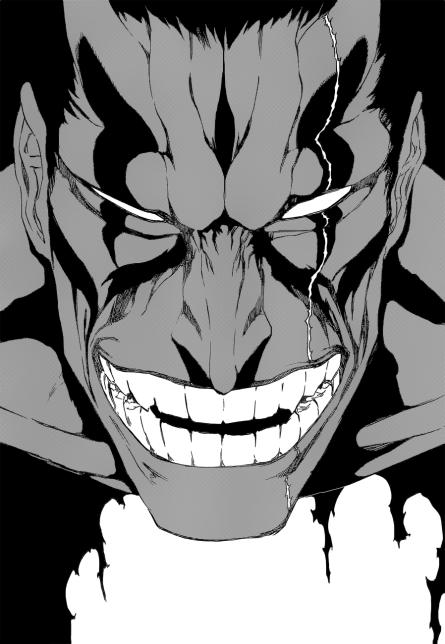 Zaraki's Bankai Face