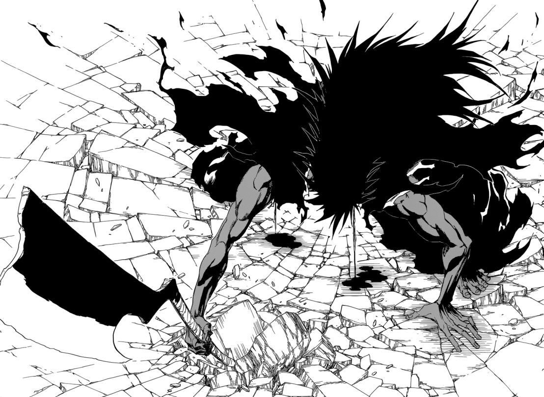 Zaraki's Bankai Transformation