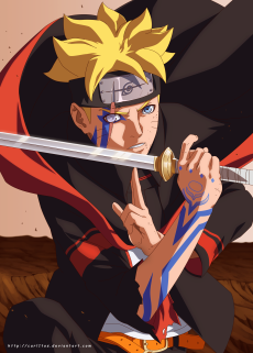 Boruto 1 by carl1tos